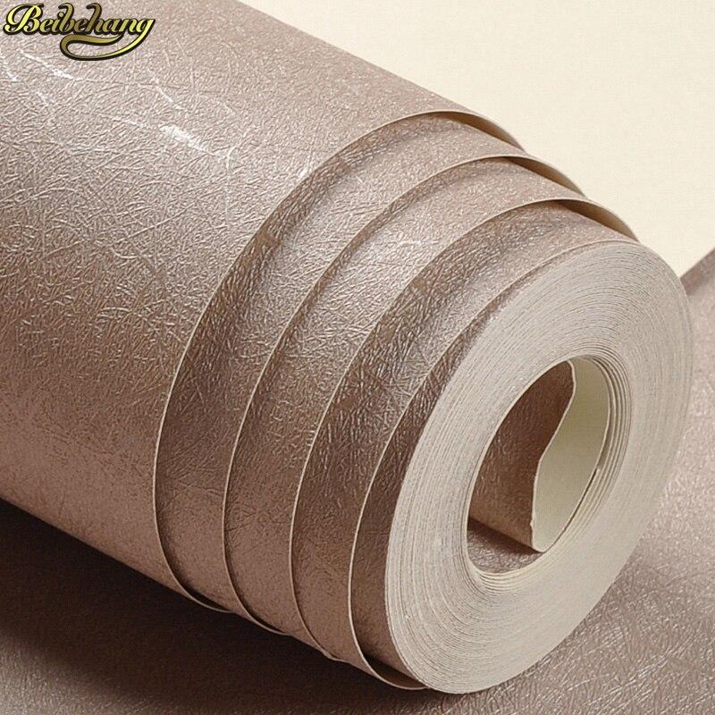 Beibehang de luxe solide 3d papier peint salon soie mur papiers décor à la maison De Bureau blanc bege jaune Mur Papier rouleau Couvrant