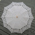 Bordado de la manera de Novia de Encaje Paraguas Parapluie Ombrelle Dentelle de Boda Mariage