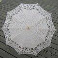 Moda Bordado Casamento Do Laço Guarda-chuva Parapluie Ombrelle Dentelle Mariage Casamento