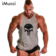 iMucci Golds Stringer Tank Top Men Bodybuilding Clothing Fitness Mens Sleeveless Shirt Vests Cotton Singlets Muscle