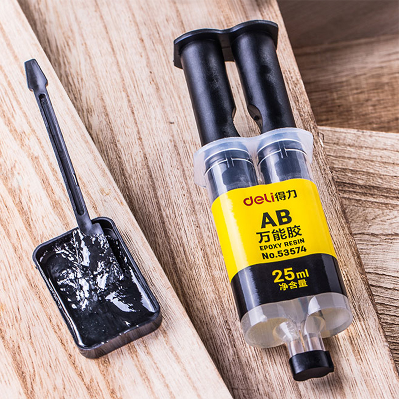 25ml High Capacity 5 Minutes Curing Super Liquid AB Glue Office Home Supply Glass Metal Rubber Waterproof Strong Adhesive Glue