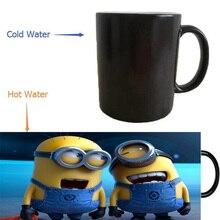 Despicable me minion tassen wärme offenbaren tassen kaffeetassen kalten hot sensitive whisky Becher porzellan tee tassen