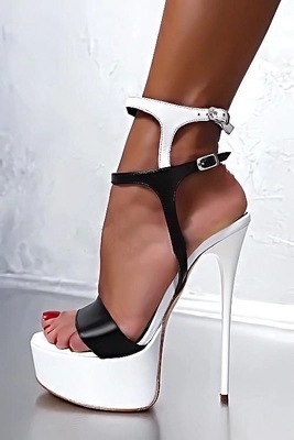 2019 New Summer Sexy Women High Heels Sandals 16cm Fashion Stripper Shoes Party Pumps Shoes Women Platform Sandals 2
