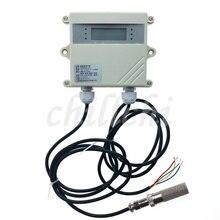 Impermeabile, ad alta temperatura e sensori di umidità, trasmettitori, di grado industriale agricolo allaperto serra, fissato al muro