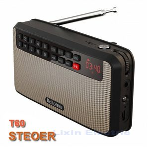 Image 3 - RoltonT60 MP3 Lettore Mini Portatile Audio Altoparlanti 2.1 Radio FM Con Schermo A LED di Sostegno carta di tf di Gioco di Musica di Alta LED torcia elettrica