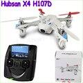1 unids Hubsan X4 H107D FPV RC Quadcopter drone Live Streaming De Audio Y Vídeo Transmisor LCD de la cámara de Grabación Helicóptero Nave de La Gota
