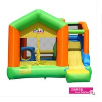 Free Shipping Child Inflatable Indoor Playground Large Household Slide Ocean Pool Big Trampoline