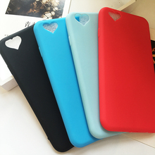 Loving Heart Phone Cases For iPhone 6 6S 6/6S SE 5 5S Soft Slicone Classic Cute Candy Color For iPhone 6 Case