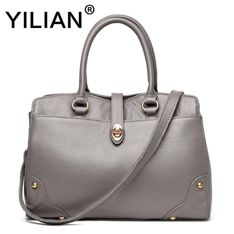 Здесь продается  2018 Fashion Women Bag women Shoulder Bags female bag gray Vintage Flap big women genuine leather handbags women messenger bags  Камера и Сумки