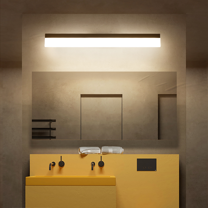 AC85-265V led mirror light modern bathroom light 40cm-120cm 8W-24W Wall lamp led wall lights for home bedroom lamp modern waterproof aluminum acryl led mirror front light for bathroom bedroom living room 40cm 12w ac 80 265v mirror light 2129