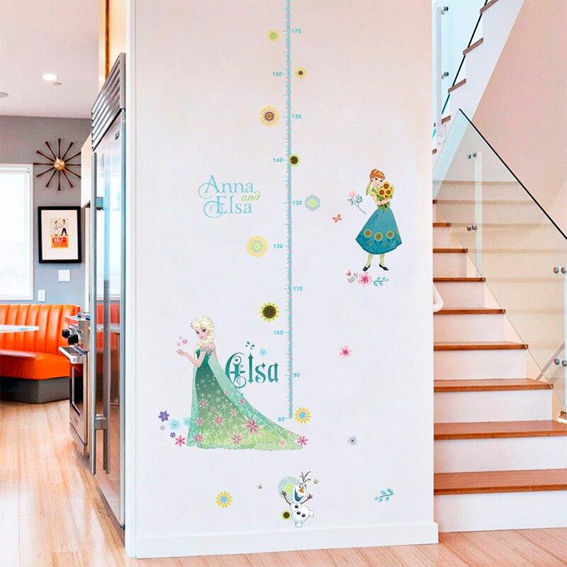 DISNEY Princess la Croissance en Hauteur Tableau Mesure Autocollant Mural Fille Bébé Chambre Cadeau