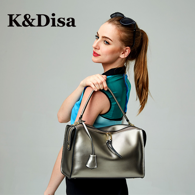 2018 New Satchels Handhags For Women Cow Genuine Leather Ladies Shoulder Bag Fashion Solid Messenger Bag High Quality Handbag new arrive women leather bag fashion zipper handbag high quality medium solid shoulder bag summer women messenger bag