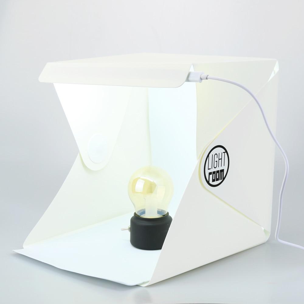 Creative LED Light Room Photo Studio Photography Lighting Tent Kit ...