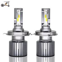 2019 New 2PCS H7 H4 LED 6000K Mini Car Headlight Bulbs H1 H8 H9 H11 Headlamps Kit 9005 HB3 9006 HB4 Auto Lamps