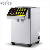 SEHE 16 Grid Quantitative Machine Automatic Fructose Dispenser Micro Computer Fructose Machine Stainless Steel Syrup Dispenser