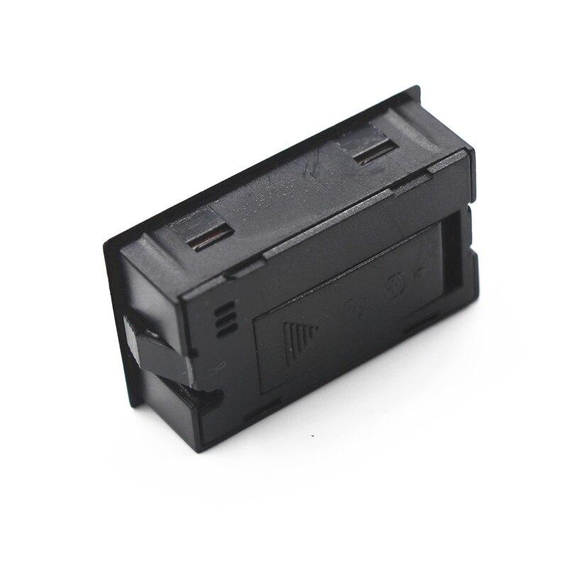 Mini LCD cyfrowy czujnik temperatury i wilgotności higrometru z - Przyrządy pomiarowe - Zdjęcie 3