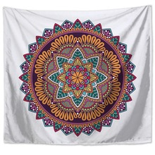 Geometry lotus Bohemian Tapestry Blanket Sofa backdrop beach towel picnic mat sofa sets  bedclothes ceiling wall decorations