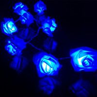 2M 3M 4M 5M Rose Flower LED Valentine S Day String Lights Battery Colorful Rosa Christmas