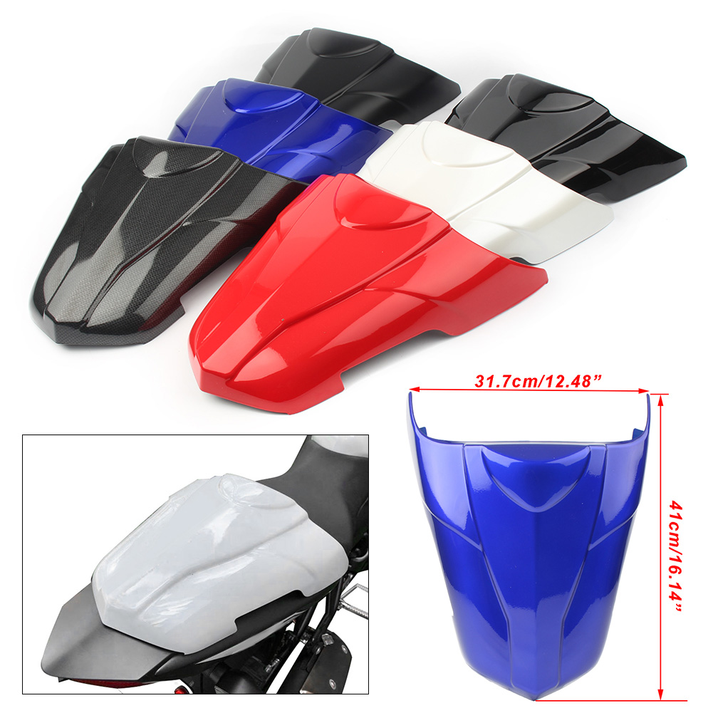 Motorcycle Seat Cover Rear Pillion Passenger Cowl Back Cover Fairing For <font><b>Suzuki</b></font> SV650 <font><b>SV</b></font> <font><b>650</b></font> 2017 <font><b>2018</b></font> / 17 18 image