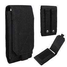 1c1e5dd4f0b Universele Buitensporten Molle Riem Leger Taille portemonnee Telefoon Case  Voor iPhone 6/7 Cover Bag Pouch voor Samsung Mobiele .