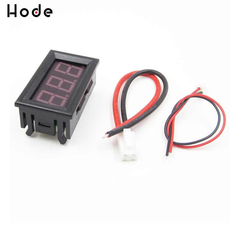 DC 0-10A Rouge Ampère LED Amp Panel Meter 3Bit Afficher Non Besoin Shunt Mini Numérique Ampèremètre