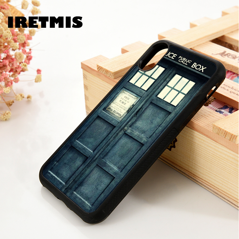 Cellphones & Telecommunications Dedicated Iretmis 5 5s Se 6 6s Soft Tpu Silicone Rubber Phone Case Cover For Iphone 7 8 Plus X Xs Max Xr Doctor Who Tardis Door
