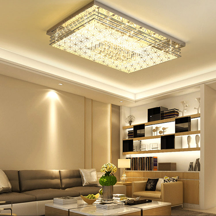 Aliexpress Fashion Bright Crystal Ceiling Light For Bedroom Living Room Simple Homing Led Lighting Flush Mount Lamp Lamparas Modern From