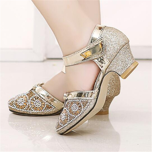 Heel Girls Sandals