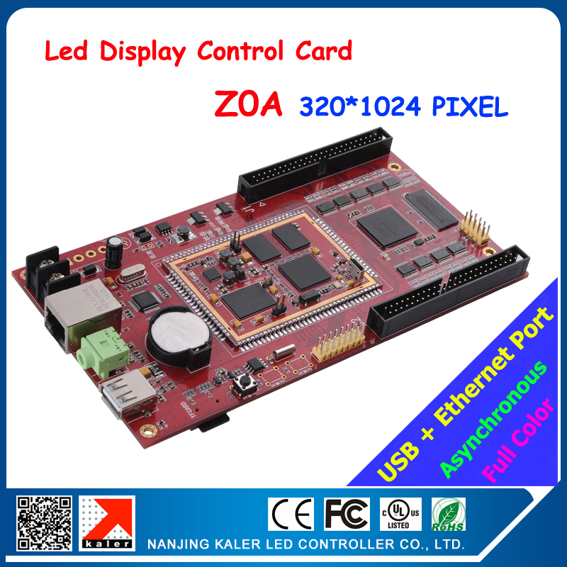 led display control card full color asynchronous video dislpay led screen card Z0A 320*1024pixel with usb and ehternet portled display control card full color asynchronous video dislpay led screen card Z0A 320*1024pixel with usb and ehternet port