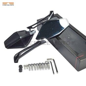 Алюминиевый чехол с ЧПУ для мотоцикла с зеркалом заднего вида для DUCATI Multistrada 1200S Multistrada 1200 enduro Monster 821 в полоску