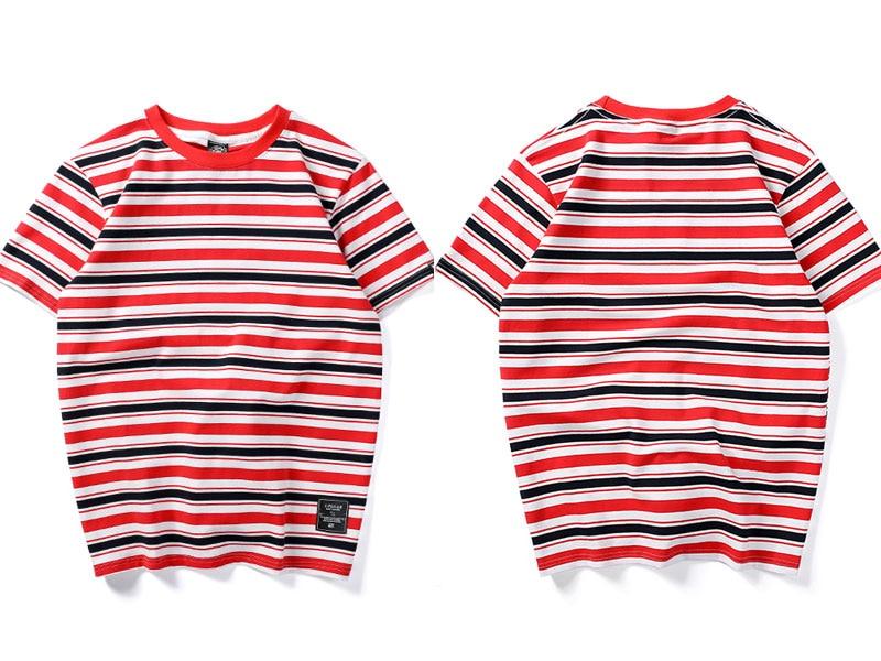 Harajuku Stripe T Shirts 3