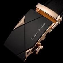 Fitness Men Leather Automatic Buckle Belts Luxury Waist Strap Belt Men Luxury Leather Belt Fashion Male Belt