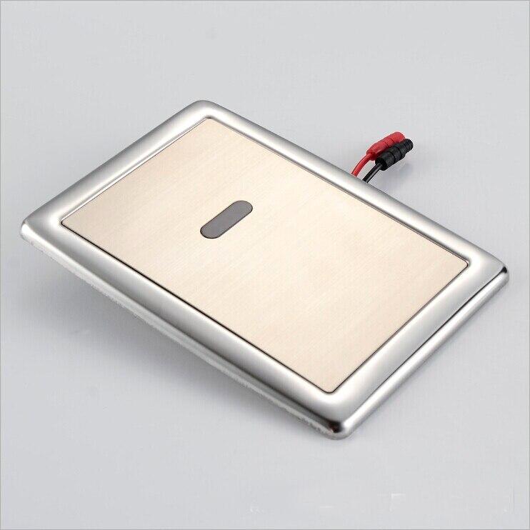 Diplomatisch X7721-luxe Rvs Materiaal Dc6v Conceal Automatische Kruk Spoelklep