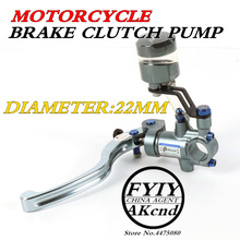 akcnd Universal PX1 motorcycle brake clutch pump master cylinder lever handle For YAMAHA bws smax R1/R6 tmax NMAX 155 HANDA PCX