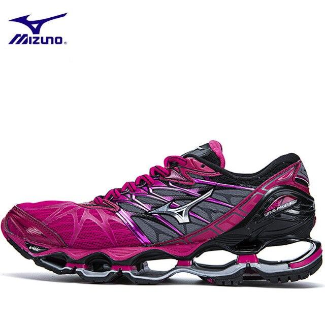 Homens Sapatos Mizuno originais Onda Profecia 7 Profissional 5 Cores Sapatos De Halterofilismo Sneakers Respiração Sapatos de Corrida para Homem