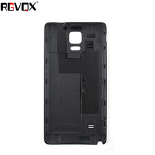 New Back Cover For SAMSUNG Galaxy Note 4 N9100 Housing Battery Door Rear Cover Replacement стоимость