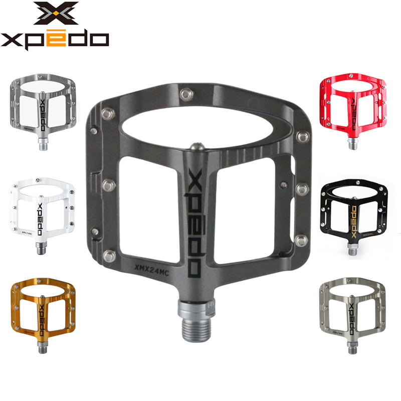 Wellgo XPEDO bicycle pedals SPRY XMX24MC ultralight Magnesium MTB mountain bike pedals 243g 6 Colors taiwan wellgo bearing mtb bicycle pedals c280 city bike self lock pedals
