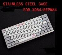 stainless steel bent case  acrylic panels acrylic diffuser for  xd84 eepw84 75% custom Mechanical keyboard