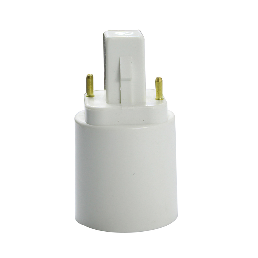 1Pcs Retardant G24 To E27 Lamp Holder Converters Light Bulb Base Socket LED Halogen CFL Lamp Converter Adaptor Screw