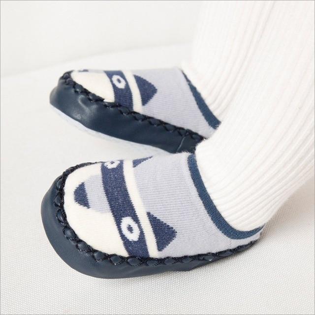Baby Autumn Combed Cotton Socks Booties Floor Sock Baby Anti Slip