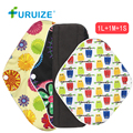 3pcs Bamboo Charcoal Pads Washable Cloth Pads Health Care Menstrual Cloth Pads Feminine Hygiene breathable Women cloth pads