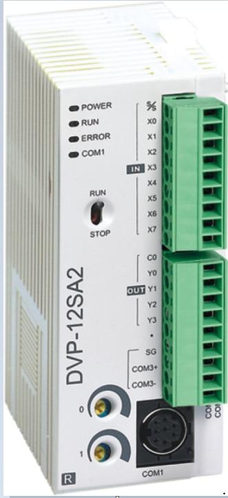 DVP12SA211T Delta SA2 Series Advanced PLC DI 8 DO 4 Transistor 24VDC new in box dvp08sp11t delta s series plc digital module di 4 do 4 transistor new in box