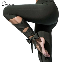 Cwlsp مثير النساء طماق الرقص رياضية لياقة عبر الدانتيل يصل الساق النساء الساخنة رفع leggins calzas deportivas موهير