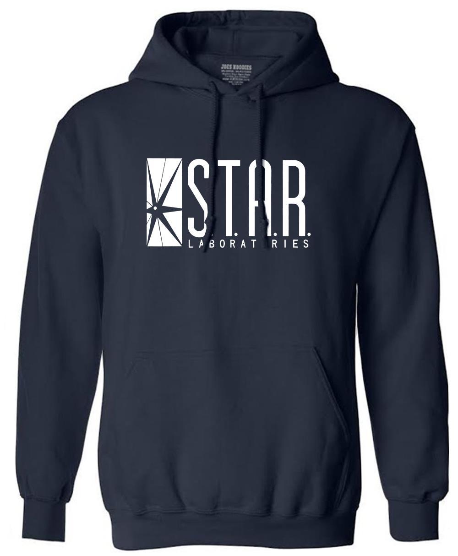 autumn brand hoodies superman series men hoody STAR S.T.A.R.labs jumper the flash gotham city comic books black sweatshirt 4
