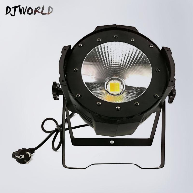 New LED Par Light COB 100W DMX512 2 Channels Aluminium Warm White Cool White Strobe Effect Stage Lighting Theater lighting winsune 2 100w cool white
