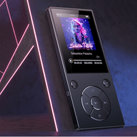 Original HiFi Bluetooth MP3 Player with Speaker Metal High Quality Lossless Music Player Supports 128GB Memory