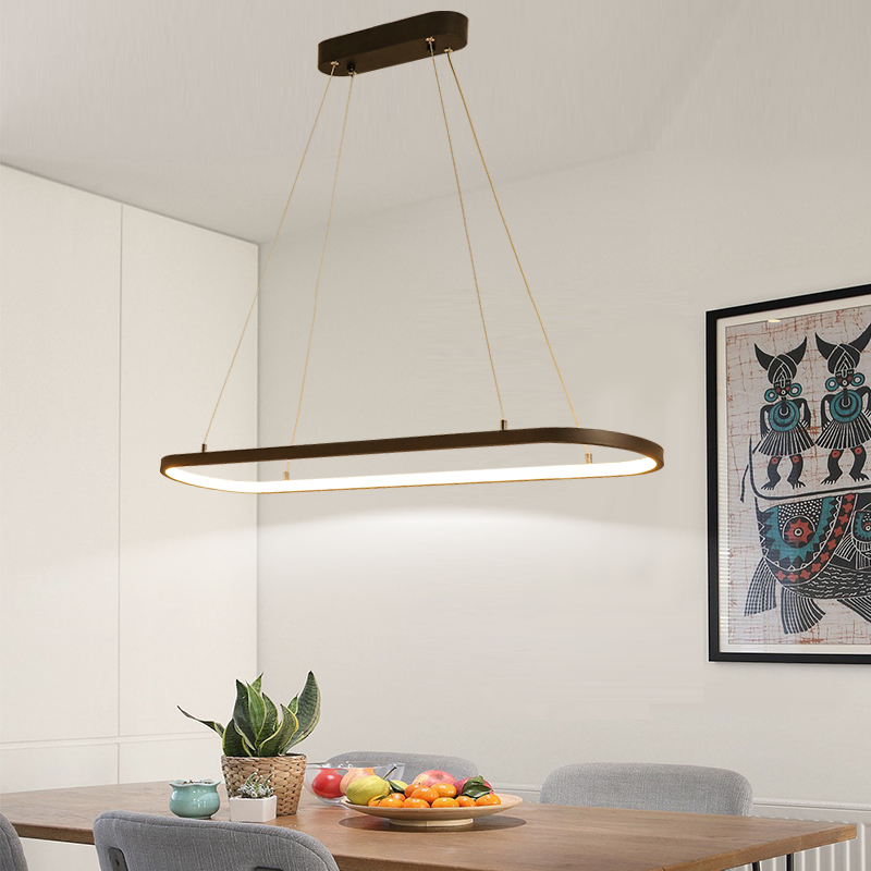 LICAN Wave Pendant Lights for Living room Kitchen office Suspension luminaire Aluminum Modern Pendant Lamp Cord Hanging lights 16 holes portable professional oil painting brush watercolor brush case knife paper pen case drawing set acrylic set bag only