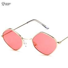 Qigge Brand Designer Women Shield Sunglasses Men Fashion Vin
