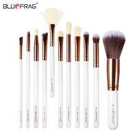 BLUEFRAG Brand 11Pcs Makeup Brushes Natural Super Soft High Quality Makeup Brushes Eye Shadow Brush Makeup