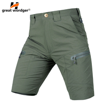 Tactical camping hiking shorts Men Outdoor quick dry breathable breeches spring-summer men's military shorts цена